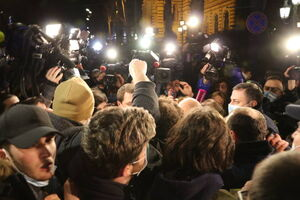 فیلم/ اعتراضها به محدودیتهای کرونایی در دانمارک