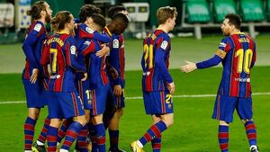 «مسی» همه چیز را تغییر داد؛ بارسلونا بازی باخته را بُرد