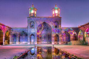 معجونی زیبا از هنر و ریاضی در مسجد نصیرالملک +عکس