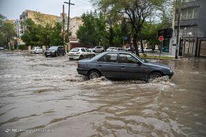 عکس/ آبگرفتگی خیابانها و معابر اهواز