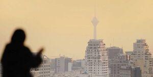 آلودگی هوا به تهران بازگشت/۱۹۵ روز هوای آلوده در پایتخت