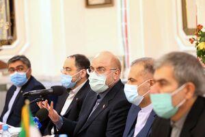 قالیباف در نشست با روسای نهادهای ایران در روسیه