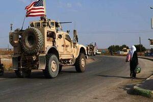 یک کاروان نظامی آمریکا از عراق وارد سوریه شد - کراپشده