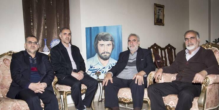 بادیگاردهای امام خمینی در زیارت پنهانی