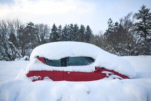 عکس/ برف شدید در اسکاتلند