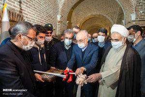 عکس/ افتتاح نمایشگاه دستاوردهای سازمان انرژی اتمی ایران