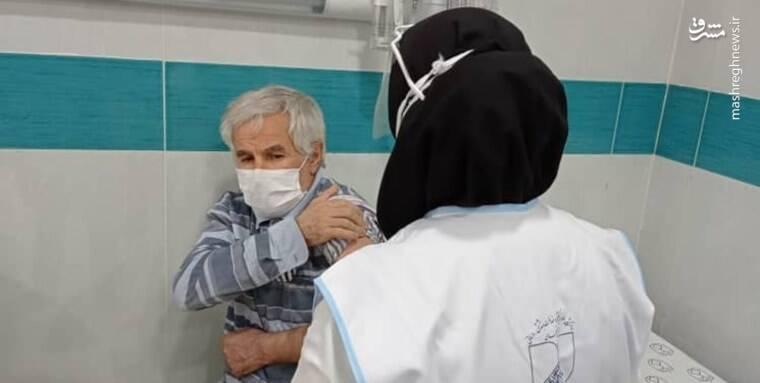 روز اول واکسیناسیون کرونا چگونه گذشت؟ +عکس