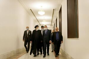 فیلم/ آیت الله رئیسی با نخست وزیر عراق دیدار کرد