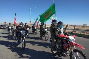 فیلم/ آغازین لحظههای راهپیمایی موتوری ۲۲ بهمن