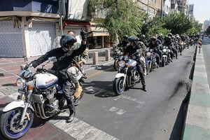 فیلم/ رژه موتورسیکلتهای سنگین به مناسبت ۲۲ بهمن