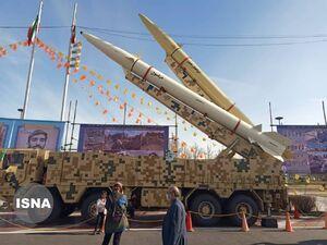 عکس/ نمایش موشکهای بالستیک سپاه در تهران