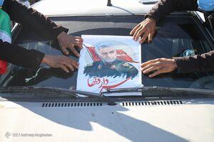 فیلم/ راهپیمایی نمادین خودرویی ۲۲ بهمن در گیلان