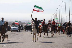عکس/ راهپیمایی باشکوه ۲۲ بهمن ۹۹ در سبزوار