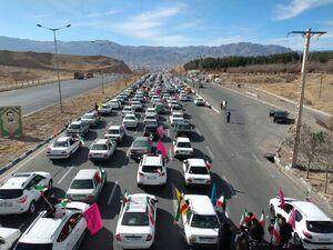 عکس/ مراسم ۲۲ بهمن در بیرجند