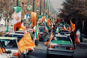 فیلم/ راهپیمایی یوم الله ۲۲ بهمن در اصفهان