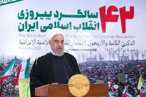 فیلم/ روحانی: امروز در بین مردم به وعهدههایی که دادیم، سرافرازیم