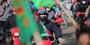 یک ۲۲ بهمن متفاوت در ملک سلیمانی/ سروی که ۴۲ ساله شد +عکس و فیلم
