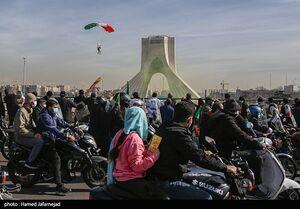 عکس/ یوم الله ۲۲ بهمن در تهران