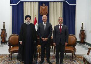 برهم صالح: سفر رئیس قوقضائیه ایران حاوی پیامی مهم است