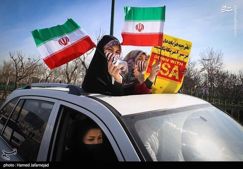 عکس/ یوم الله ۲۲ در تهران