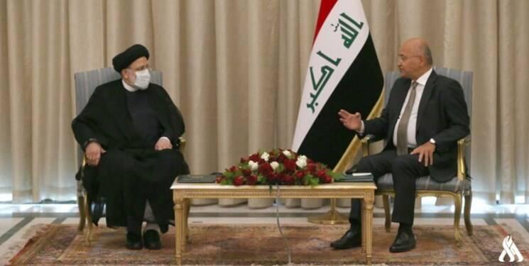 دیدار  رئیس قوه قضائیه با رئیسجمهور عراق