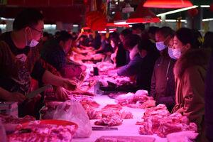 عکس/ شلوغی بازار عید چینیها