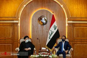 آیت الله رئیسی: مناسبات ایران و عراق باید توسعه پیدا کند/ الحلبوسی: ملت عراق قدردان مساعدتهای ایران است