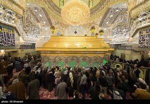 عکس/ حال وهوای حرم امام حسین (ع) در شب جمعه