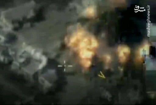 رقابت جذاب پهپادهای ایرانی و امریکایی بر فراز استان ادلب / ترکیب پهپادهای مهاجر و جنگنده سوخو۳۵ روسی برای شکار فرماندهان تروریستها +تصاویر
