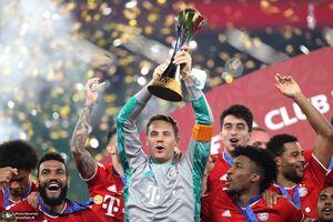 فیلم/ جشن قهرمانی بایرن در جام باشگاهها