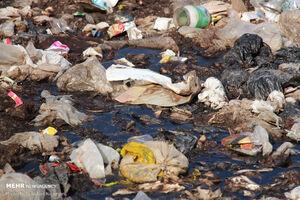"""عکس/ بحران """" زبالههای سراوان"""""""