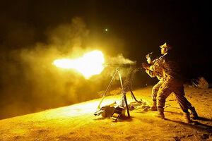 فیلم/ اجرای رزم شبانه در رزمایش نیروی زمینی سپاه