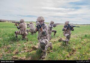 تصاویری از رزمایش پیامبر اعظم(ص) ۱۶ نیروی زمینی سپاه