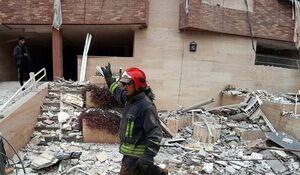 فیلم | انفجار گاز یک منزل مسکونی در حیدرآباد