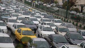 ترافیک سنگین در مسیرهای ورودی به تهران