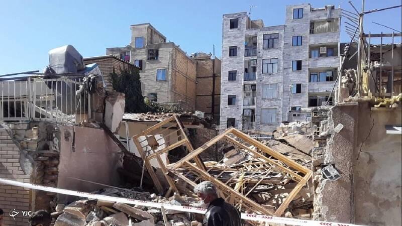 عکس های دیده نشده از انفجار منزل مسکونی در کرج