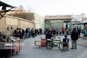 عکس/ شلوغی مرکز شهر اراک زیر سایه کرونا