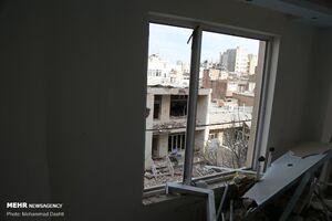 عکس/ انفجار منزل مسکونی در اردبیل