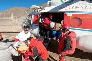عملیات نجات کوهنوردان در ارتفاع ۴۷۰۰متری ضلع جنوبی قله دماوند