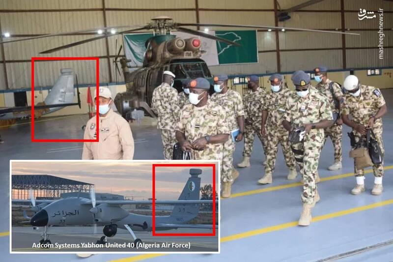 عکس/ پهپاد اماراتی در خدمت ارتش نیجریه