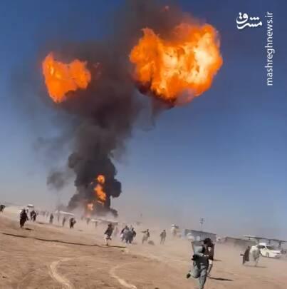 جزییات آتشسوزی گسترده در گمرک مرزی ایران و افغانستان +فیلم