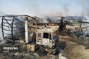 آتش سوزی اسلام قلعه