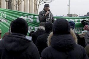 تظاهرات در پاریس علیه تشدید اسلام ستیزی در فرانسه - کراپشده