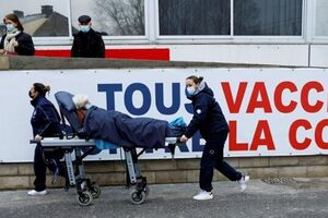 کرونای انگلیسی| بیمارستانهای فرانسه وارد شرایط اضطراری و بحرانی میشوند - کراپشده