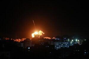 فیلم/ رهگیری موشکهای اسرائیل توسط پدافند سوریه