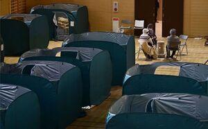 عکس/ محل اسکان زلزله زدگان ژاپن