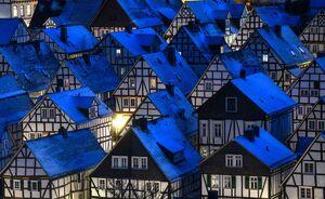 معماری خانههای چوبی قدیمی