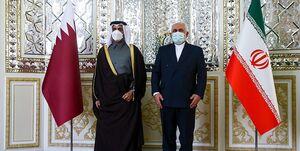 رایزنی وزرای خارجه ایران و قطر