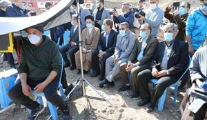 عکس/نمایندگان مجلس سر صحنهی سریال «نون خ»