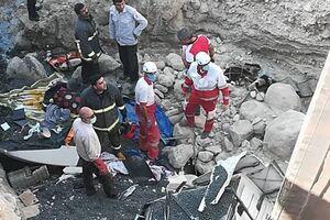 ۴ کشته و مصدوم در تصادف بونکر سیمان با پژو در بزرگراه آزادگان